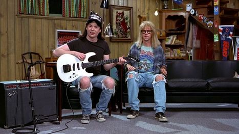 Wayne's World and the democratization of TV from public access to YouTube | A.V. Club Video | immersive media | Scoop.it