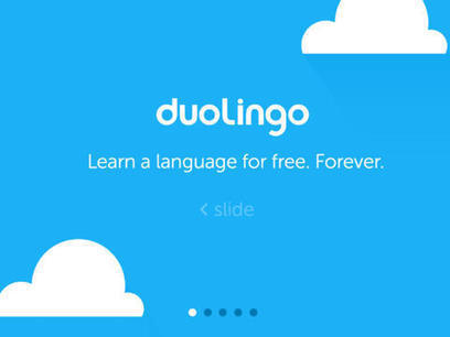 Free Language Learning App Duolingo Adopts New Design Language For iOS 7 -- AppAdvice | skincare | Scoop.it