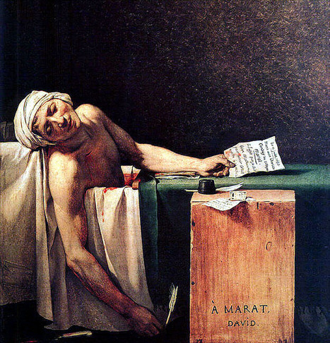 The Death of Marat: A Symbol of the French Revolution   Comm455/History of Journalism   Death of Marat   Scoop.it
