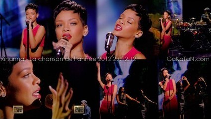 Photos : Rihanna sexy dans La chanson de l'année 2012 (29/12/12) | Radio Planète-Eléa | Scoop.it