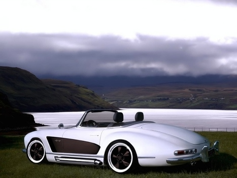 Mercedes 300 SL Roadster With Wide Body Kit [Photo Gallery] - autoevolution | Classic Mercedes | Scoop.it