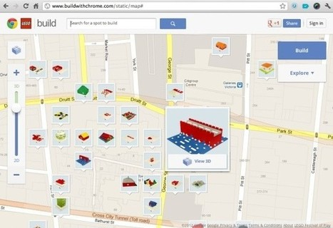 Chrome Experiment Builds Virtual Lego Worlds On Top Of Google Maps [Video]   Trends Hunting   Scoop.it