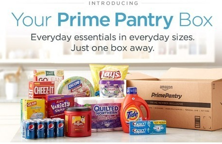 New Amazon service,Prime Pantry, offers grocery delivery for cost conscious | Marketing et Retail - Tristan Salles | Scoop.it