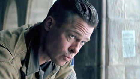 "Brad Pitt leads the troops in new ""Fury"" trailer 