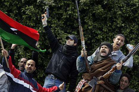 Unable to Defeat Gaddafi, Libyan Rebels Turn to the West | Coveting Freedom | Scoop.it