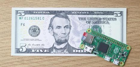 Raspberry Pi : le modèle Zero est disponible... pour 5 dollars seulement | Geeks | Scoop.it