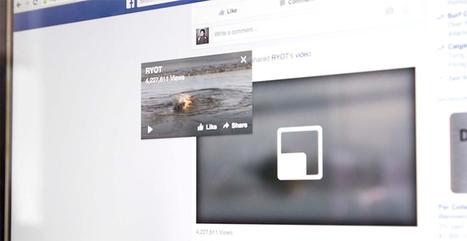Facebook Video Marketing Update Enhances Video Views | Content Marketing | Scoop.it