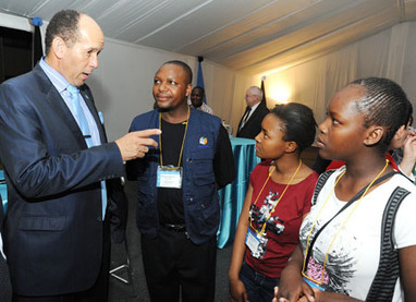 Welcome to Daily News .:. General - Youth receive accolades | businesssubjectspdctommiehamaluba2013 | Scoop.it