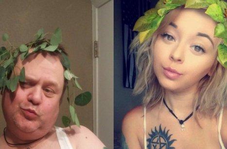 Dad replicates daughter's selfies -- and it's hilarious | Vloasis humor | Scoop.it