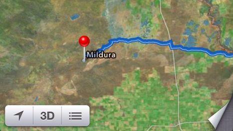 Apple Maps strands motorists looking for Mildura | Nerd Vittles Daily Dump | Scoop.it