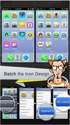 How To Get iOS7 Like Home Screen On Android Phone « Tricks For You   Andriod   Scoop.it