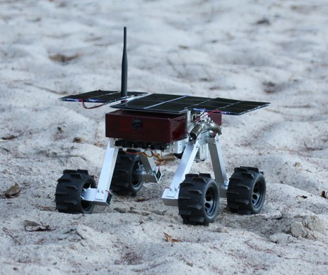 Canada's Thoth Taps Crowdsourcing for Funds to Finish Mini Mars Rover - DailyTech | Crowdfunding Science | Scoop.it