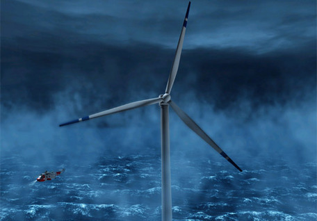 FLOATING WIND TURBINES IN THE NORTH SEA | Sustainable Technologies | Scoop.it