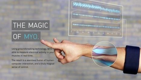 [MYO] 可攜式設備 : MYO 手勢控制手臂環 | Wayne ESL Blog 資訊融入教學 | Scoop.it