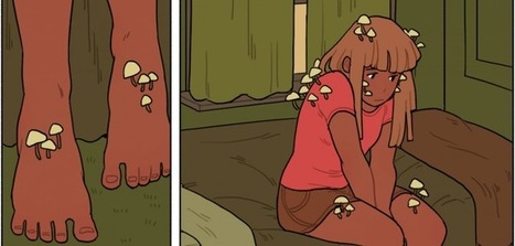 Depression and Webcomics: How a Comic About Mushrooms Taught Me to Love Myself | Conquer Chronic Pain | Scoop.it