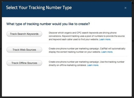 CallRail Review - Analyzing Your Search Marketing Efforts With Phone Call Analytics | Best Smallbiz Apps | Scoop.it