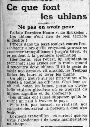 16 août 1914 | Ca m'interpelle... | Scoop.it