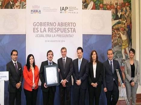 Tony Gali refrenda compromiso de mantener un gobierno abierto - Puebla online   Open Gov Chile   Scoop.it