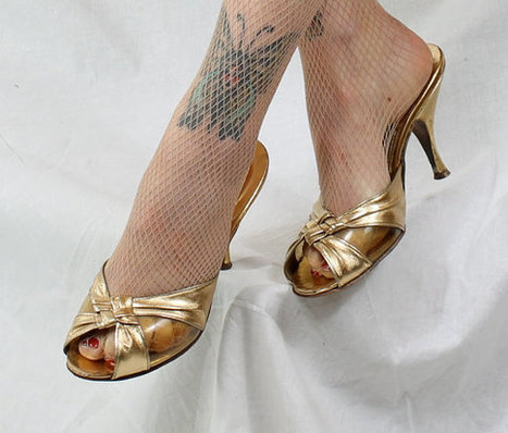 1950s Vintage ShoesMINE EMBRACES Spring Fashion by stutterinmama | Fashion | Scoop.it