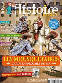 Les mousquetaires, garde rapprochée du roi | Histoire Junior n° 29 | Nouveautés du CDI | Scoop.it