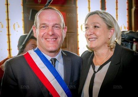Hénin-Beaumont : incendie à la mairie et menace de mort contre Steeve Briois | Pierre-André Fontaine | Scoop.it