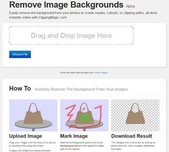 Clipping Magic: recurs per eliminar el fons de les nostres imatges | Recursos TIC per mestres i infants | Scoop.it