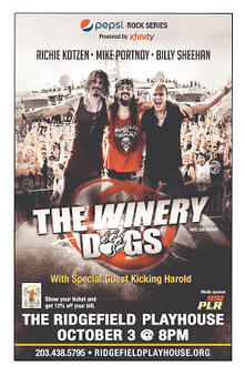 The Winery Dogs Return To The Ridgefield Playhouse On October 3rd | Write A Music Review | Music News | Scoop.it