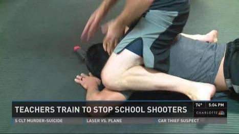 Teachers train to stop school shooters | Fitness and Self-Defense | Scoop.it