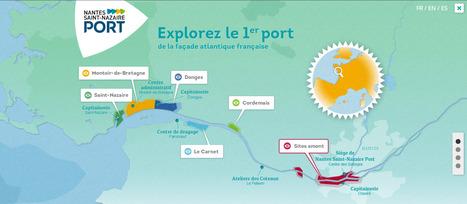 Le port de Nantes Saint-Nazaire en dataviz | La veille de Ouest Médialab | Scoop.it