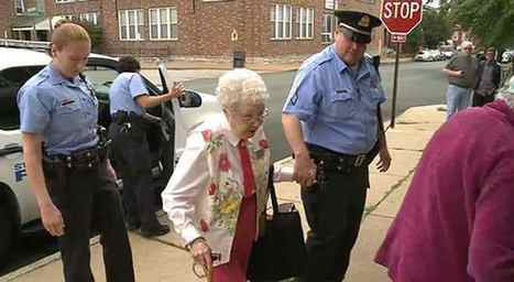 102-year-old Woman Gets Arrested to Check 'Getting Arrested' Off Her Bucket List | Meilleure revue de presse de l'univers connu | Scoop.it