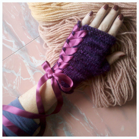 Pirouette Glovelets- PDF Knitting Pattern | Spinning, Weaving and Knitting | Scoop.it