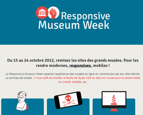 Une semaine pour *hacker* les sites web des musées avec la Responsive Museum Week ! | QRiousCODE | Scoop.it
