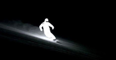 LED Snowboarding Suit Shreds Powder In Pitch Blackness » Geeky Gadgets | All About Longboarding | Scoop.it
