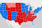 Presidential election 2012: Electoral College map for Barack Obama, Mitt Romney | JWK Geography | Scoop.it