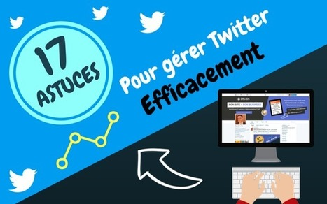 17 astuces pour gérer Twitter efficacement | Webmarketing, Référencement & Réseaux Sociaux | Scoop.it