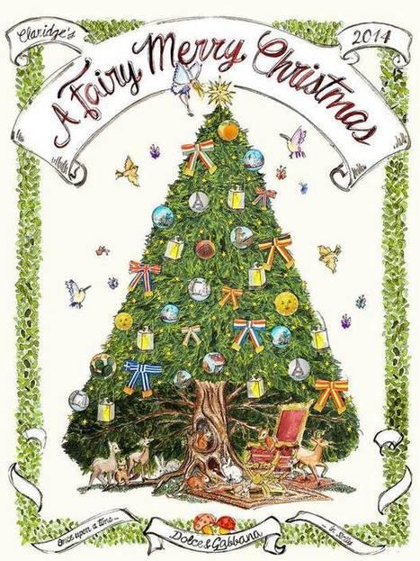 Revealed: Dolce and Gabbana to design prestigious Claridge's Christmas Tree   Holiday Decorations   Scoop.it