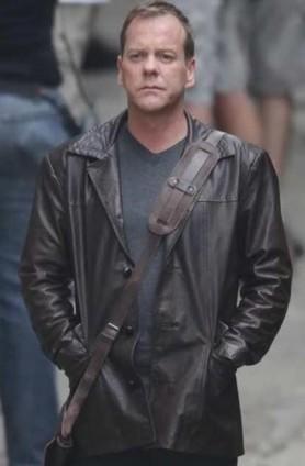 Season 8 Jack Bauer 24Brown Coat | leathersbound | Scoop.it
