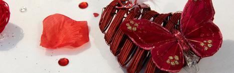 Saint Valentin : une décoration de table pour un repas entre amoureux | Actualités de la boutique Tendances déco | Scoop.it