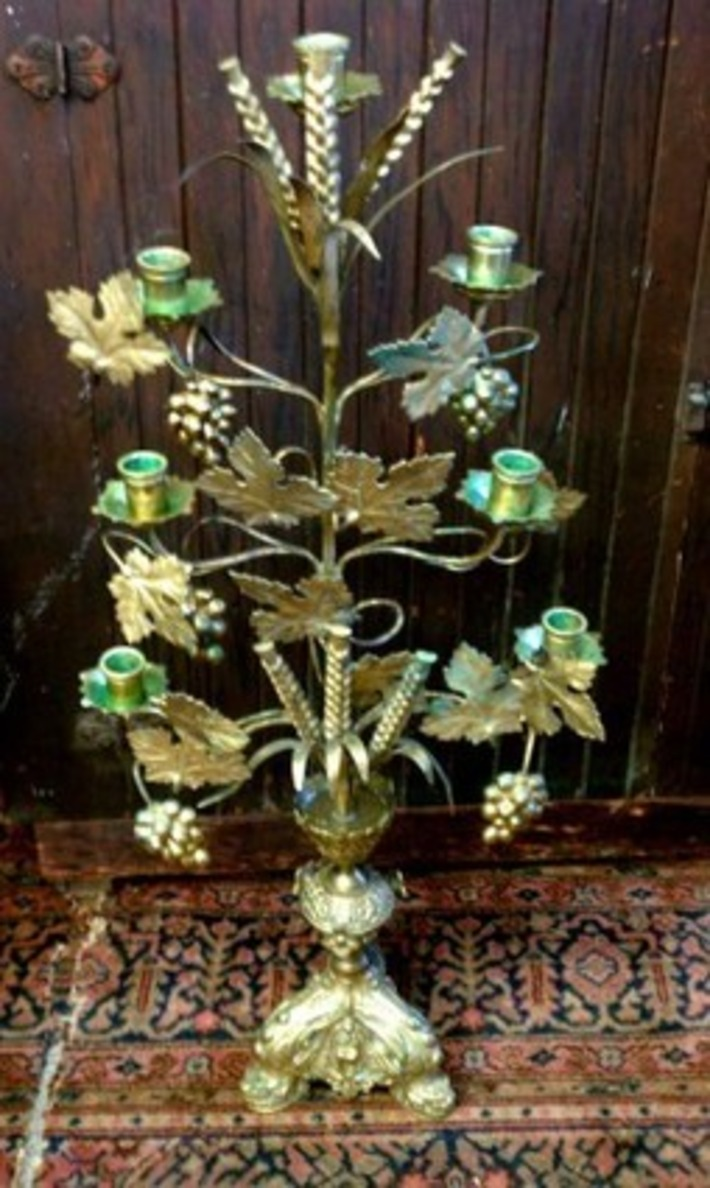 Antique French Altar Candelabra | Antiques & Vintage Collectibles | Scoop.it