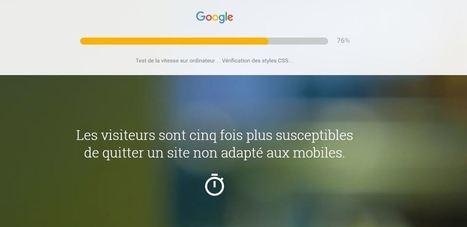 Google : lancement d'un outil gratuit pour tester les performances de son site - Blog du Modérateur   De l'informatique pour les nuls   Scoop.it
