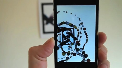 Konstruct for iOS creates generative augmented reality art with ... | Augmented Reality & The Future of the Internet | Scoop.it
