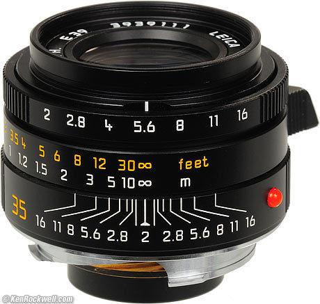LEICA 35mm SUMMICRON Sharpness Comparison - Ken Rockwell | Photography Gear News | Scoop.it