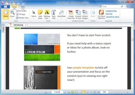 Convert PowerPoint Files To PDF Via Drag And Drop With PrimoPDF | PowerPoint Presentation | languages and computers | Scoop.it