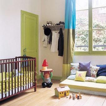 Préparer la chambre de bébé #2 | Dossier de l'été | Les murs | Maternité | Scoop.it