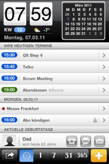 miCal - der Kalender iPhone-App | iPad:  mobile Living, Learning, Lurking, Working, Writing, Reading ... | Scoop.it