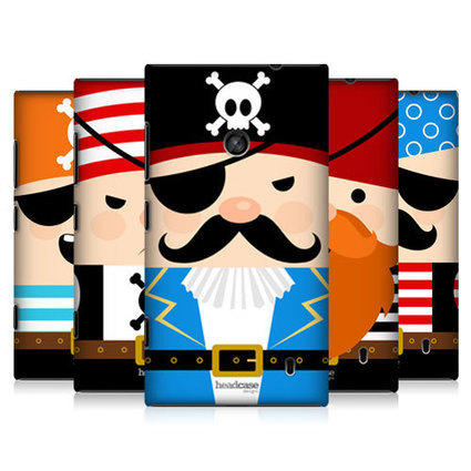 Head Case Little Pirate Design Protective Back Case Cover for Nokia Lumia 520 | Technology Right At Your Doorstep | Scoop.it