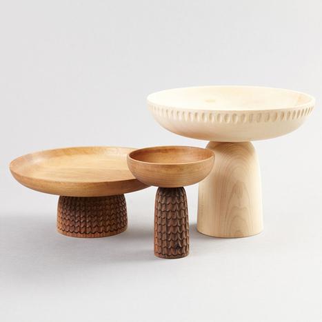 Design Crush: Nera Wooden Bowls · Happy Interior Blog | Interior Design & Decoration | Scoop.it