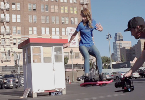 This Skateboard allows you to fly in the air against Gravity - World Leaks | Worldleaks | Scoop.it