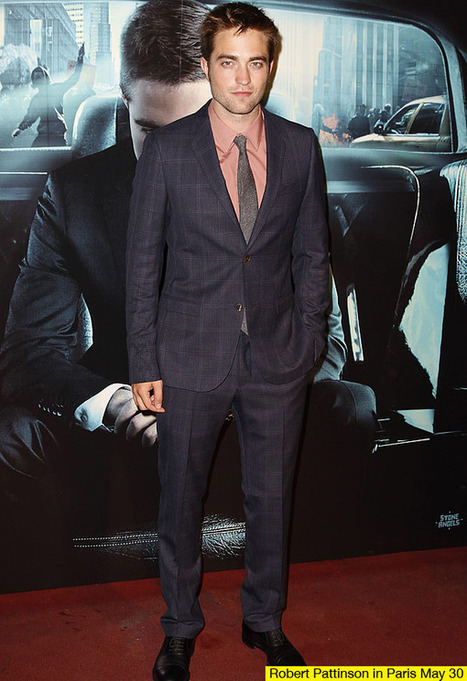 Robert Pattinson 'Cosmopolis' Premiere: He Wears Pink For The First Time - Hollywood Life | The Twilight Saga | Scoop.it