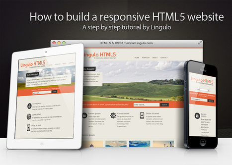 How to build a responsive HTML5 website - a step by step tutorial | Web & Graphic Design Tricks from Clear Output | Scoop.it